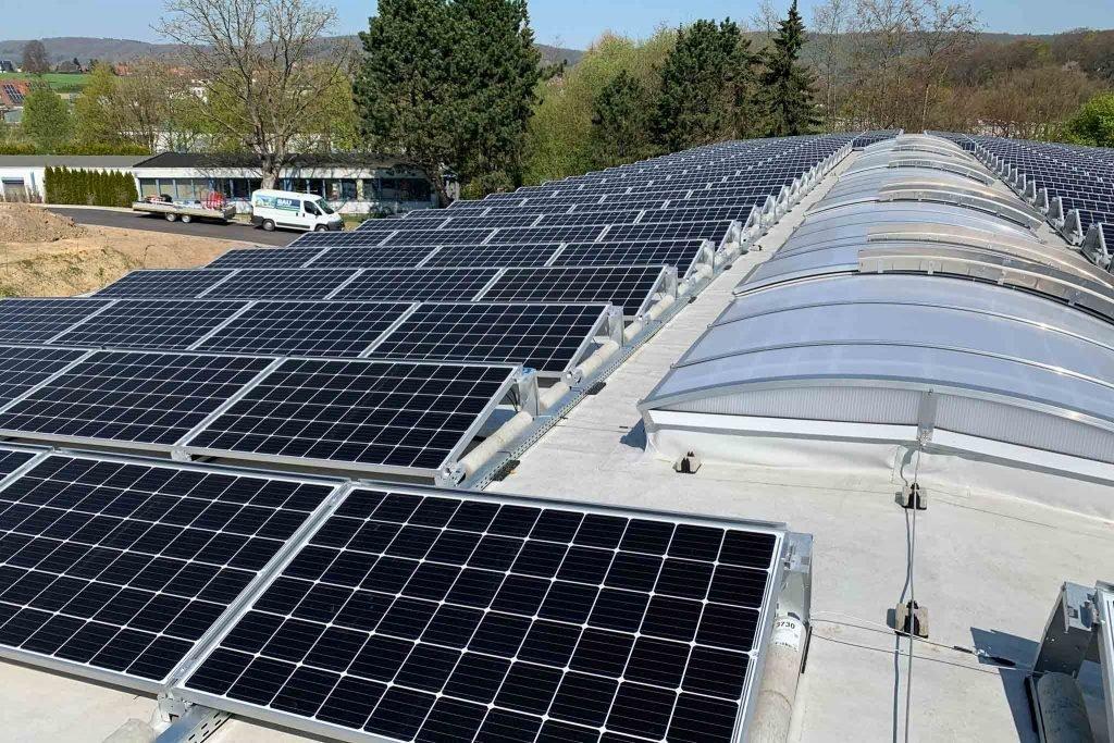 Photovoltaikanlage mit Süd-Ausrichtung
