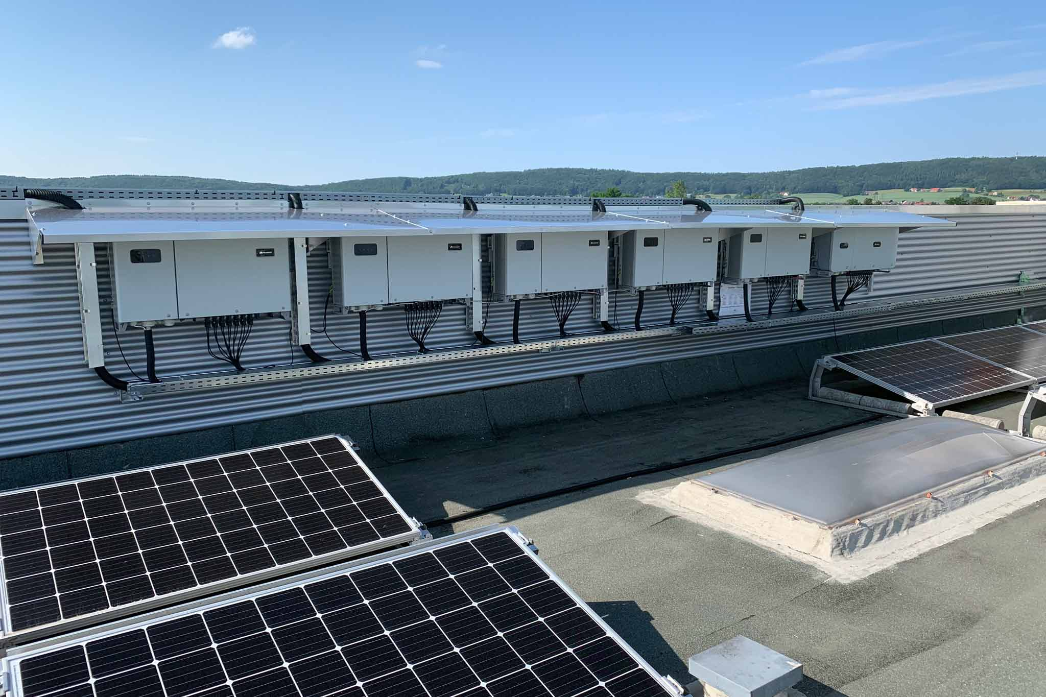 Schaltanlage einer Photovoltaik-Anlage